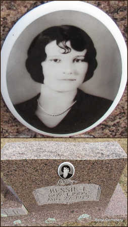 WALKER, BESSIE I.  (CLOSE UP) - Faulkner County, Arkansas | BESSIE I.  (CLOSE UP) WALKER - Arkansas Gravestone Photos