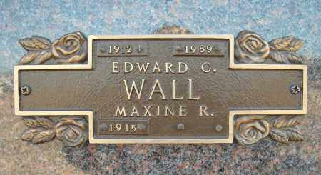 WALL, EDWARD C. - Faulkner County, Arkansas | EDWARD C. WALL - Arkansas Gravestone Photos