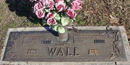 WALL, CURTIS E. - Faulkner County, Arkansas   CURTIS E. WALL - Arkansas Gravestone Photos