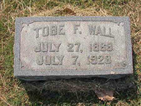 WALL, TOBE F. - Faulkner County, Arkansas   TOBE F. WALL - Arkansas Gravestone Photos