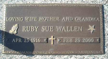 WALLEN, RUBY SUE - Faulkner County, Arkansas | RUBY SUE WALLEN - Arkansas Gravestone Photos