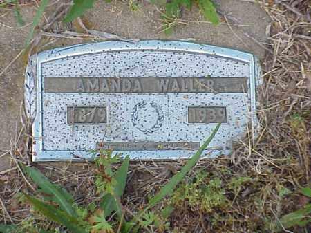 WALLER, AMANDA - Faulkner County, Arkansas | AMANDA WALLER - Arkansas Gravestone Photos