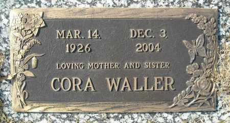 WALLER, CORA - Faulkner County, Arkansas | CORA WALLER - Arkansas Gravestone Photos
