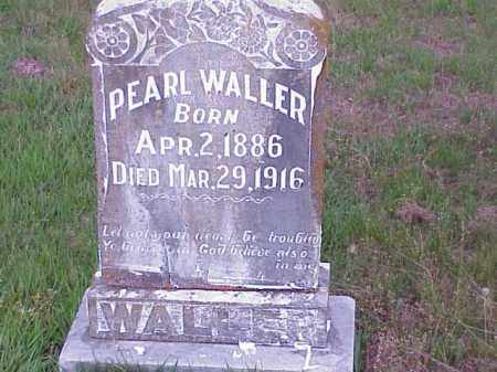 WALLER, PEARL - Faulkner County, Arkansas   PEARL WALLER - Arkansas Gravestone Photos