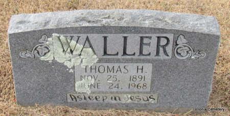 WALLER, THOMAS H - Faulkner County, Arkansas   THOMAS H WALLER - Arkansas Gravestone Photos