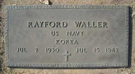 WALLER (VETERAN KOR), RAYFORD - Faulkner County, Arkansas | RAYFORD WALLER (VETERAN KOR) - Arkansas Gravestone Photos