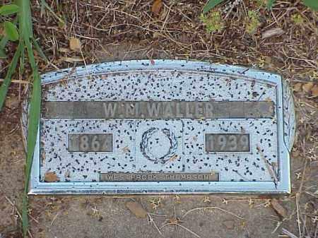 WALLER, W.M. - Faulkner County, Arkansas | W.M. WALLER - Arkansas Gravestone Photos
