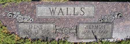 WALLS, IRENE - Faulkner County, Arkansas | IRENE WALLS - Arkansas Gravestone Photos