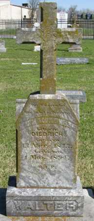 DIEDRICH WALTER, MARIA LOUISE - Faulkner County, Arkansas | MARIA LOUISE DIEDRICH WALTER - Arkansas Gravestone Photos
