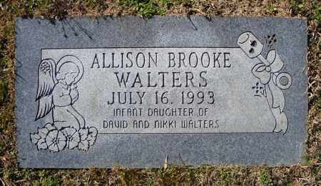 WALTERS, ALLISON BROOKE - Faulkner County, Arkansas   ALLISON BROOKE WALTERS - Arkansas Gravestone Photos