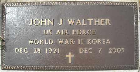 WALTHER (VETERAN 2 WARS), JOHN J - Faulkner County, Arkansas   JOHN J WALTHER (VETERAN 2 WARS) - Arkansas Gravestone Photos