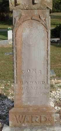 WARD, CORA - Faulkner County, Arkansas   CORA WARD - Arkansas Gravestone Photos
