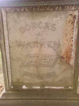 WARREN, DORCAS  (CLOSE UP) - Faulkner County, Arkansas | DORCAS  (CLOSE UP) WARREN - Arkansas Gravestone Photos