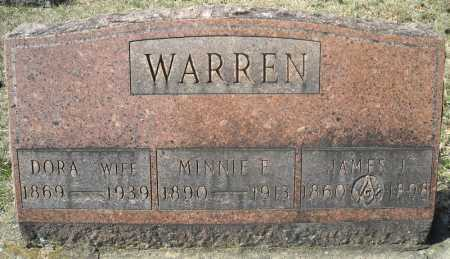 WARREN, MINNIE E. - Faulkner County, Arkansas | MINNIE E. WARREN - Arkansas Gravestone Photos