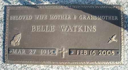 WATKINS, BELLE - Faulkner County, Arkansas   BELLE WATKINS - Arkansas Gravestone Photos