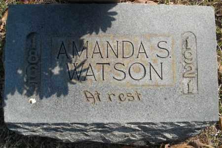 WATSON, AMANDA S. - Faulkner County, Arkansas | AMANDA S. WATSON - Arkansas Gravestone Photos