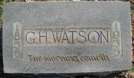 WATSON, G.H. - Faulkner County, Arkansas | G.H. WATSON - Arkansas Gravestone Photos