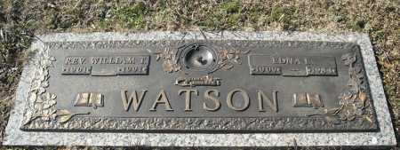 WATSON, REV., WILLIAM T. - Faulkner County, Arkansas | WILLIAM T. WATSON, REV. - Arkansas Gravestone Photos