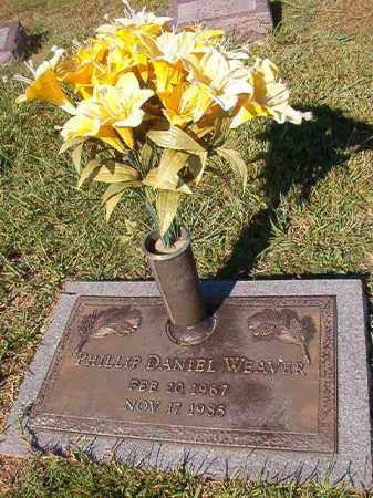 WEAVER, PHILLIP DANIEL - Faulkner County, Arkansas | PHILLIP DANIEL WEAVER - Arkansas Gravestone Photos