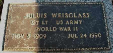 WEISGLASS (VETERAN WWII), JULIUS - Faulkner County, Arkansas   JULIUS WEISGLASS (VETERAN WWII) - Arkansas Gravestone Photos
