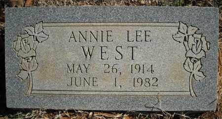 WEST, ANNIE LEE - Faulkner County, Arkansas | ANNIE LEE WEST - Arkansas Gravestone Photos