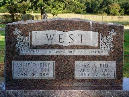 WEST, ANNIE P. - Faulkner County, Arkansas   ANNIE P. WEST - Arkansas Gravestone Photos
