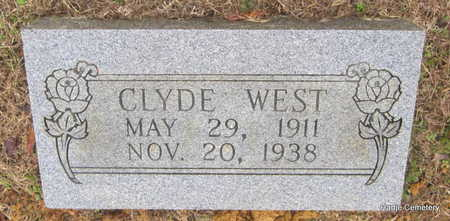 WEST, CLYDE - Faulkner County, Arkansas | CLYDE WEST - Arkansas Gravestone Photos