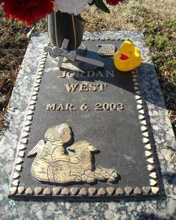 WEST, JORDAN - Faulkner County, Arkansas   JORDAN WEST - Arkansas Gravestone Photos