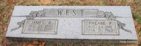WEST, JAMES A. - Faulkner County, Arkansas | JAMES A. WEST - Arkansas Gravestone Photos
