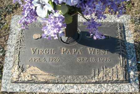 WEST, VIRGIL - Faulkner County, Arkansas | VIRGIL WEST - Arkansas Gravestone Photos
