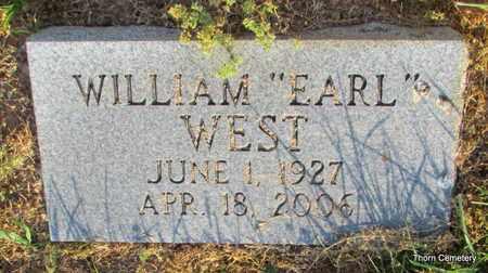 "WEST, WILLIAM ""EARL"" - Faulkner County, Arkansas | WILLIAM ""EARL"" WEST - Arkansas Gravestone Photos"