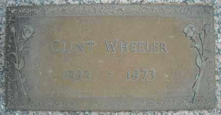 WHEELER, CLINT - Faulkner County, Arkansas   CLINT WHEELER - Arkansas Gravestone Photos