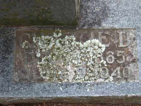 WHEELER, CHARLIE D. - Faulkner County, Arkansas | CHARLIE D. WHEELER - Arkansas Gravestone Photos