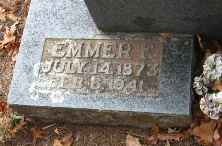 WHEELER, EMMER F. - Faulkner County, Arkansas | EMMER F. WHEELER - Arkansas Gravestone Photos