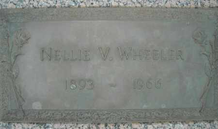 WHEELER, NELLIE V. - Faulkner County, Arkansas | NELLIE V. WHEELER - Arkansas Gravestone Photos