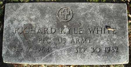 WHITE  (VETERAN), RICHARD KYLE - Faulkner County, Arkansas | RICHARD KYLE WHITE  (VETERAN) - Arkansas Gravestone Photos