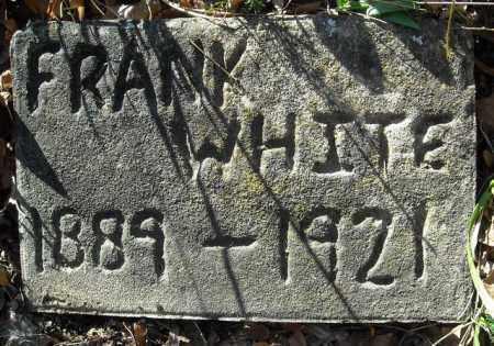 WHITE, FRANK - Faulkner County, Arkansas | FRANK WHITE - Arkansas Gravestone Photos