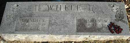 WHITE, GLYNDA S. - Faulkner County, Arkansas | GLYNDA S. WHITE - Arkansas Gravestone Photos