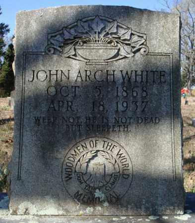 WHITE, JOHN ARCH - Faulkner County, Arkansas | JOHN ARCH WHITE - Arkansas Gravestone Photos