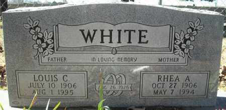 WHITE, RHEA A. - Faulkner County, Arkansas | RHEA A. WHITE - Arkansas Gravestone Photos