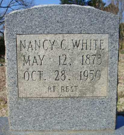 WHITE, NANCY C. - Faulkner County, Arkansas   NANCY C. WHITE - Arkansas Gravestone Photos