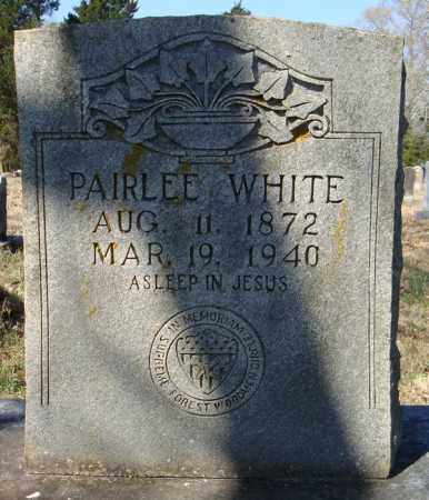 WHITE, PAIRLEE - Faulkner County, Arkansas | PAIRLEE WHITE - Arkansas Gravestone Photos