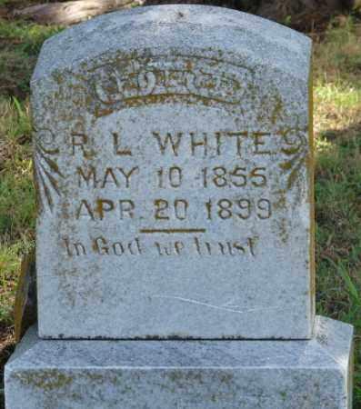 WHITE, R.L. - Faulkner County, Arkansas   R.L. WHITE - Arkansas Gravestone Photos