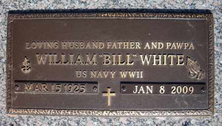 "WHITE (VETERAN WWII), WILLIAM ""BILL"" - Faulkner County, Arkansas | WILLIAM ""BILL"" WHITE (VETERAN WWII) - Arkansas Gravestone Photos"
