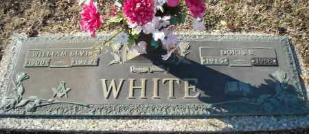 WHITE, WILLIAM ELVIS - Faulkner County, Arkansas | WILLIAM ELVIS WHITE - Arkansas Gravestone Photos