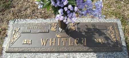 WHITLEY, ELBERT LEE - Faulkner County, Arkansas | ELBERT LEE WHITLEY - Arkansas Gravestone Photos