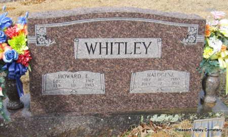 WHITLEY, HOWARD E. - Faulkner County, Arkansas | HOWARD E. WHITLEY - Arkansas Gravestone Photos