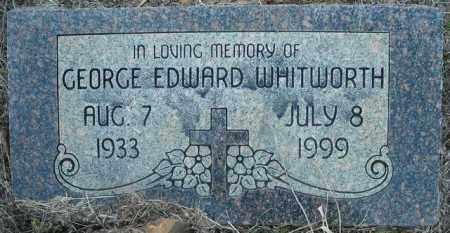WHITWORTH, GEORGE EDWARD - Faulkner County, Arkansas | GEORGE EDWARD WHITWORTH - Arkansas Gravestone Photos