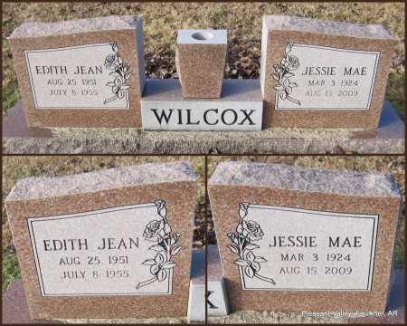 WILCOX, EDITH JEAN - Faulkner County, Arkansas | EDITH JEAN WILCOX - Arkansas Gravestone Photos