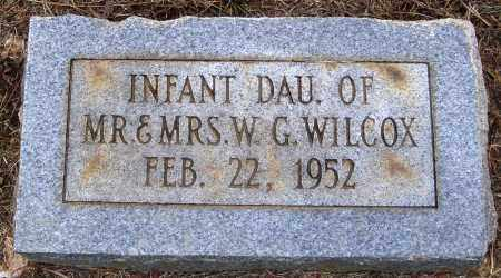WILCOX, INFANT DAUGHTER - Faulkner County, Arkansas   INFANT DAUGHTER WILCOX - Arkansas Gravestone Photos